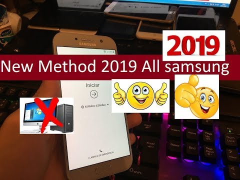 New Method 2019 All samsung 2019 Remove Google Account Unlock FRP Android Oreo 8.0 100% working
