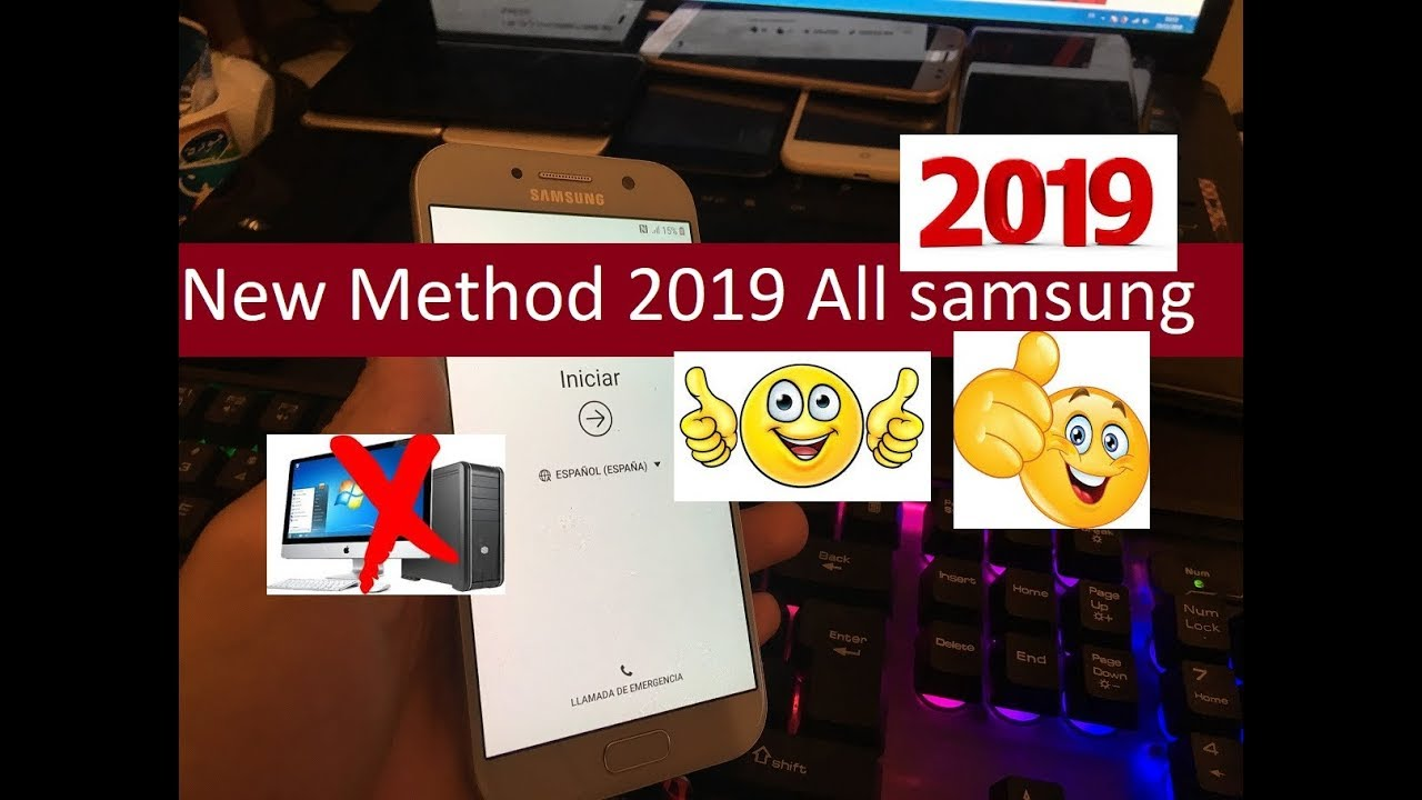 New Method 2019 All samsung 2019 Remove Google Account Unlock FRP Android  Oreo 8 0 100% working