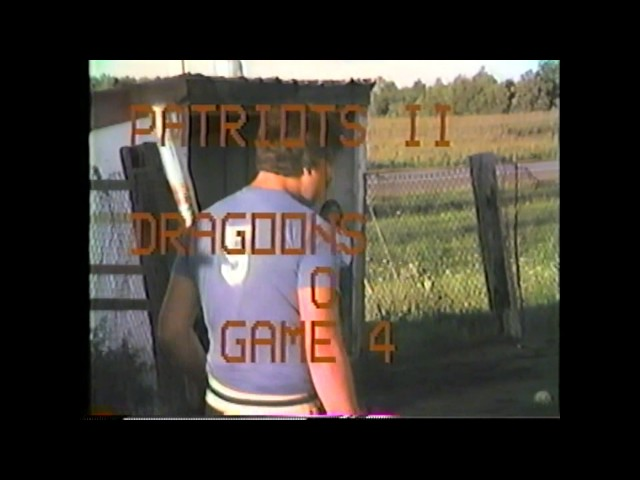 Dragoon's FE - Patriots II Men  8-25-86