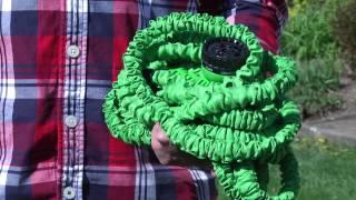 Flexibler Gartenschlauch  Das TV Flexi Wunder ein Schlauch ohne Verheddern oder Verknicken
