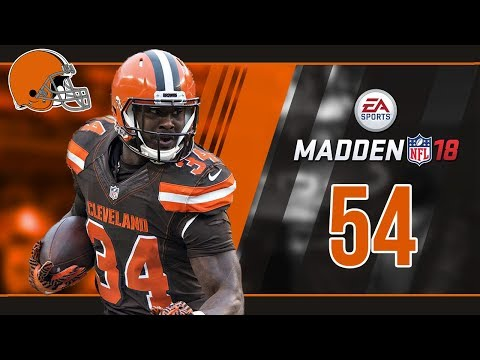 Madden NFL 18 Owner Mode (Cleveland Browns) #54 Playoff Time