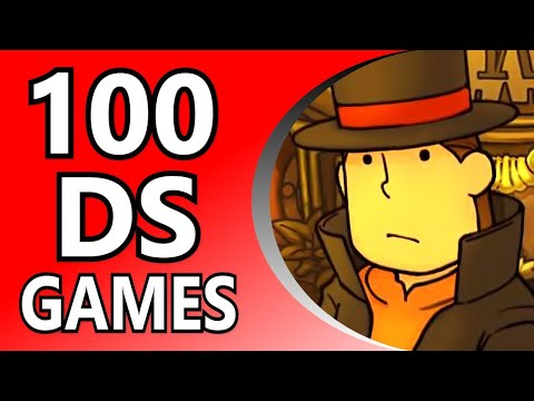 Top 100 DS Games (Alphabetical Order)