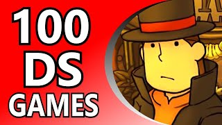 Top 100 DS Games (Random Order)