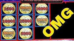 🌟MEGA BIG WIN🌟Lighting Link WILD CHUCO Slot Machine Max Bet Bonus Won |Better Than HANDPAY JACKPOT