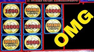 🌟MEGA BIG WIN🌟Lighting Link WILD CHUCO Slot Machine Max Bet Bonus Won |Better Than HANDPAY JACKPOT