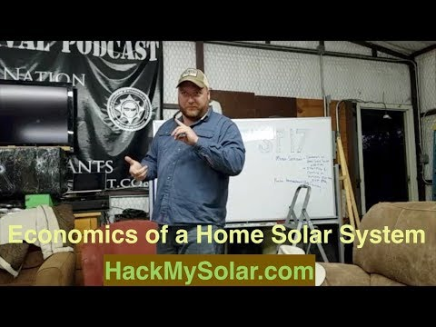#TSP17 Economics of a Home Solar System