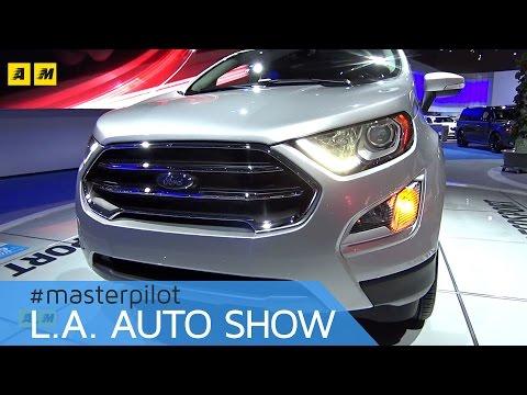 Ford EcoSport 2017, restyling per gli USA (e l'Europa?) | live Los Angeles Auto Show [ENGLISH SUB]