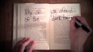 """Children 18:3 """"Why Are You Afraid Of The Dark?"""" (Official Lyric Video)"""