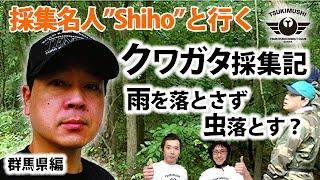 クワガタ採集名人Shihoさんに「けり・叩き採集」のテクニックを見せても...