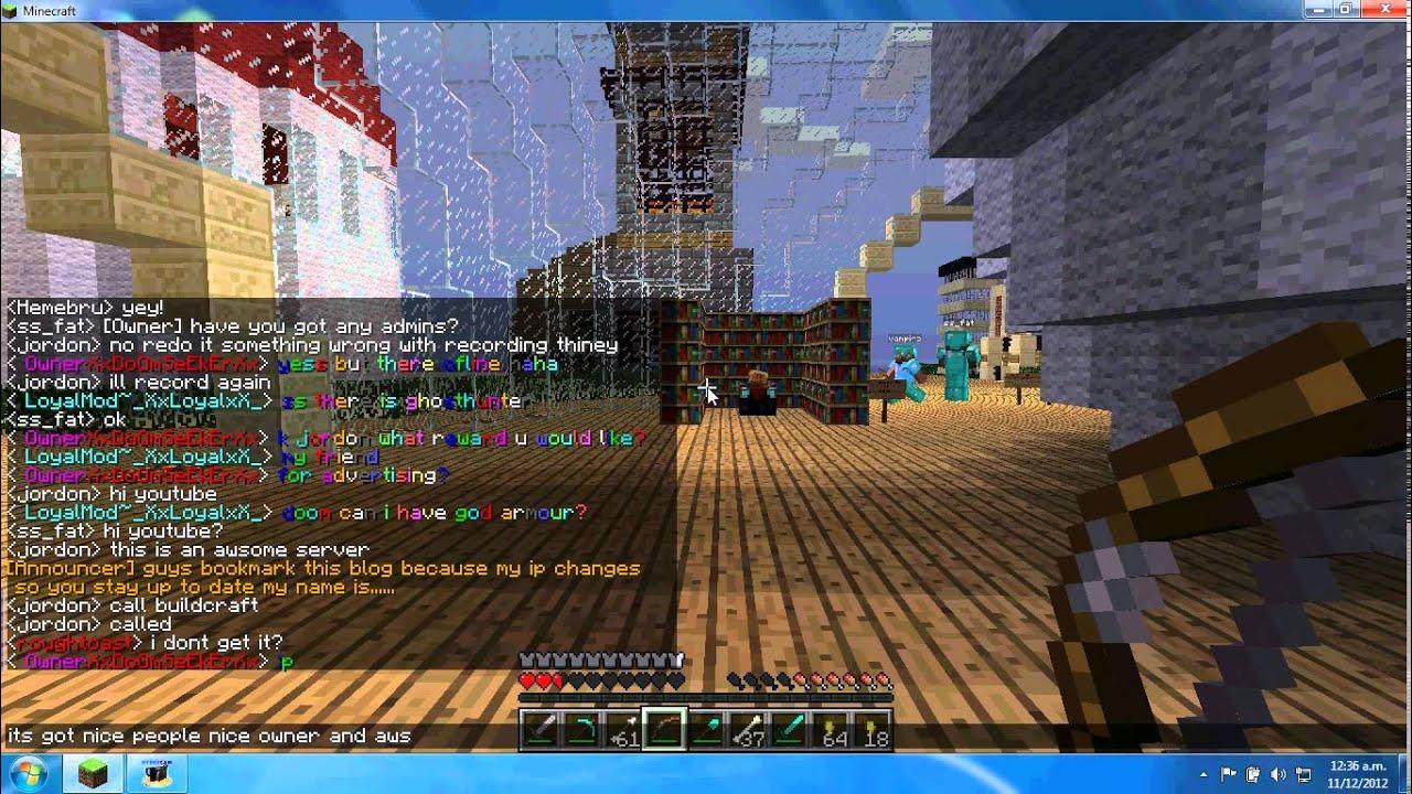 Minecraft server ip dating