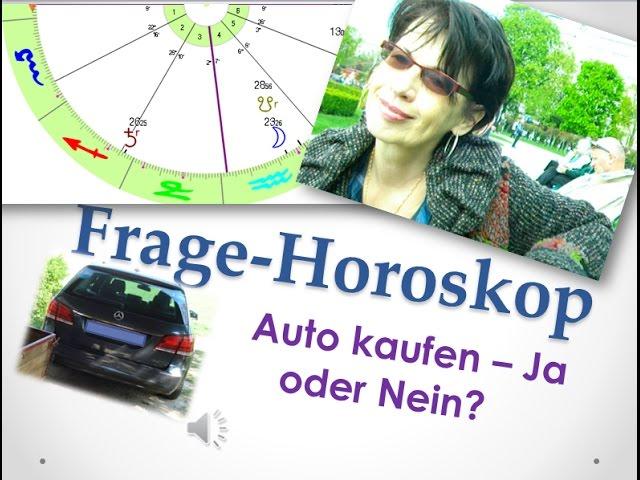 Frage-Horoskop: Soll ich das gebrauchte Auto kaufen oder nicht?