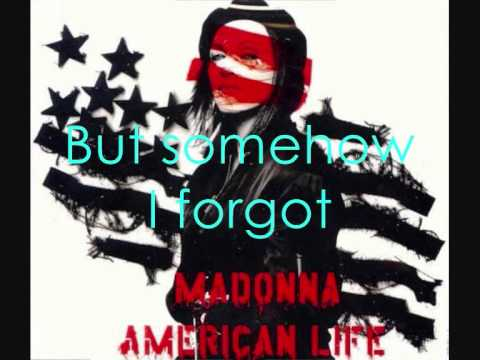 Madonna - American Life Lyrics - YouTube