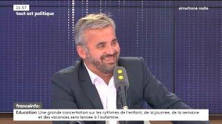 Alexis Corbière, porte-parole de Jean-Luc Mélenchon, invité de
