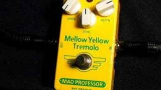 www.ProGuitarShop.com - The Mad Professor Mellow Yellow Tremolo is ...