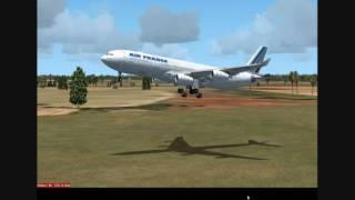 Flying around Africa 3 Algiers, Algeria FSX HD