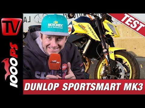 Dunlop Sportsmart MK3 - Erste Erfahrungen beim KTM 790 Duke Test am Pannoniaring