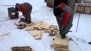 119-02 - Устройство опалубки для свай(Поэтапный видеоотчет хода строительства объекта №119. Проект