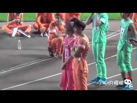 130903 EXO TAO High Jump + Waist Injury Fancam @ Idol Sports Athletics Championships
