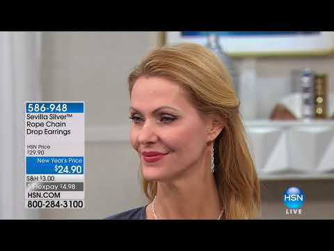 HSN | Sevilla Silver Jewelry 01.18.2018 - 10 AM