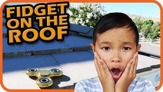 FIDGET SPINNER On The Roof, Accidents Will Happen (Skit) - TigerBox HD