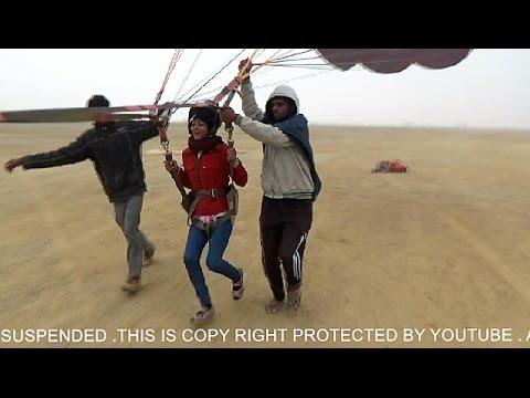 Parasailing in  Jaisalmer - Rajasthan Tourism -  India