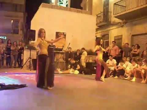 Danza del Ventre 2coreografia -Notte Bianca Dello Sport San Severo-