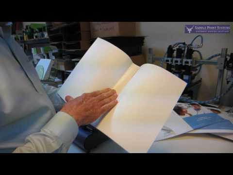 Perfect Binding Professional Paperback Books Quickly & Easily