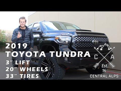 "2019 Toyota Tundra 3"" ReadyLift, 20"" Wheels, 33"" Tires"
