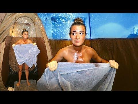 We Got Our Own Spray Tan Machine... (FAIL) | Cloe Feldman