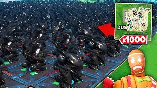 Destroying 1000+ MECHS (dumb science)