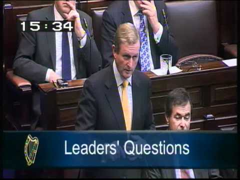 Joe Higgins TD questions Taoiseach on Government's capitulation to ECB over burning bondholders