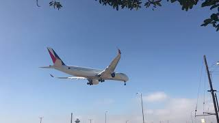 Philippine Airlines Airbus A350-900 (RP-C3501) Landing at LAX
