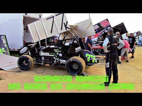 Trail-Way Speedway 358 Sprint Car Highlights 8-4-17