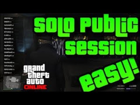GTA 5 ONLINE SOLO PUBLIC SESSION 100% WORKS