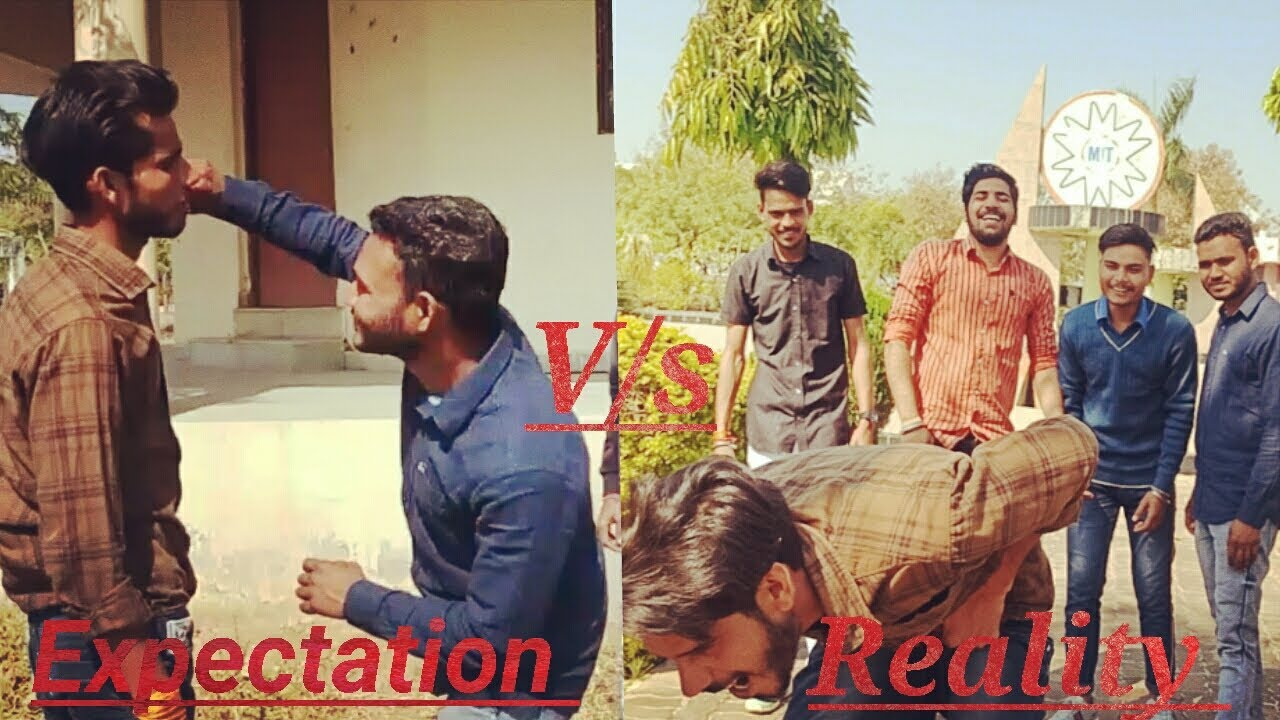 Expectation  vs reality #fight  - Desi ThuGs