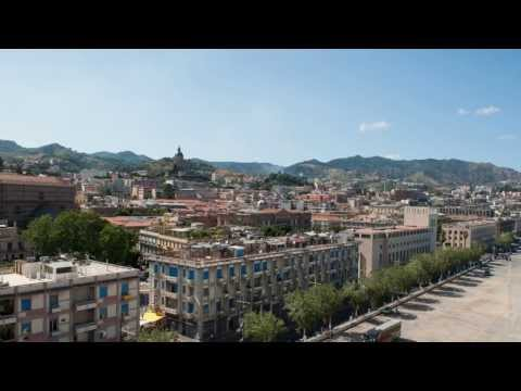 City of Messina, Sicily Italy Display
