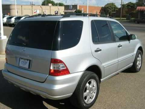 2003 mercedes benz ml350 lubbock tx youtube for Mercedes benz 2003 ml350