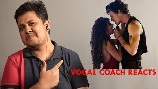 Vocal Coach Reacts to  Shawn Mendes, Camila Cabello Señorita Live From The AMAs  2019 | muzikclass