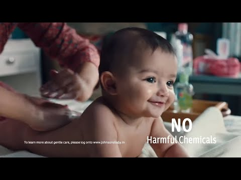 johnson's-baby-contains-no-harmful-chemicals,-only-100%-gentle-care-(hindi)
