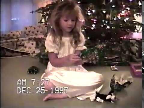 Tape 32 Christmas 1997 Matt & Alli First Communion Alli Dance Recital