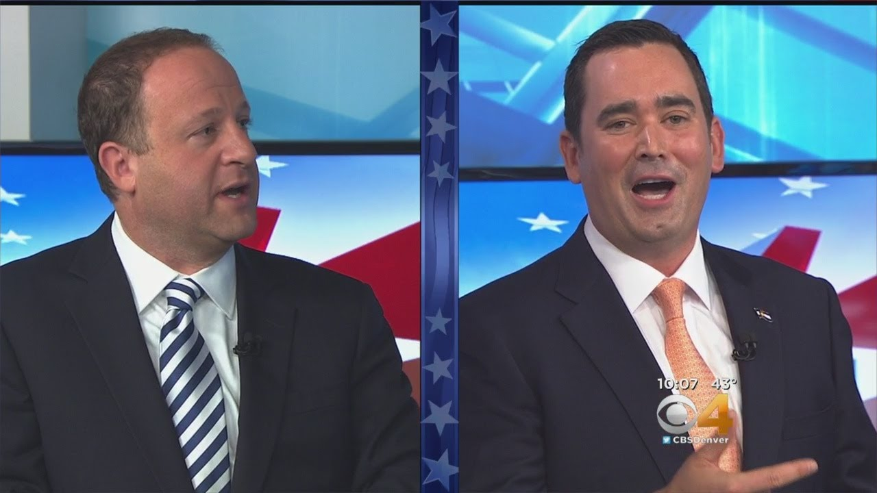 cbs4-governor-s-debate-recap-polis-stapleton-clash-on-the-issues