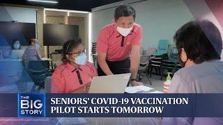 Seniors' Covid-19 vaccinat…