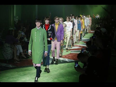 Gucci Men's Spring Summer 2017 Fashion Show