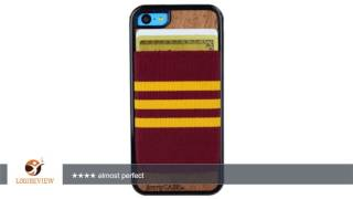 jimmycase iphone 5c wallet case ultra slim protective credit card carrying case burgundy gold