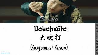 Agust D - Daechwita | kolay okunuş(Easy Lyrics) + Karaoke