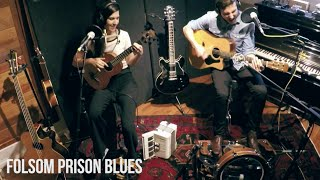 folsom prison blues johnny cash bottomless coffee band cover live in studio farmer footdrums