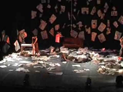 "Contemporary Dance "" News Paper "" Performance by Yasser Nabil"