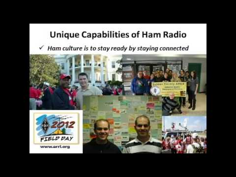 Become an amateur radio operator and save the world!