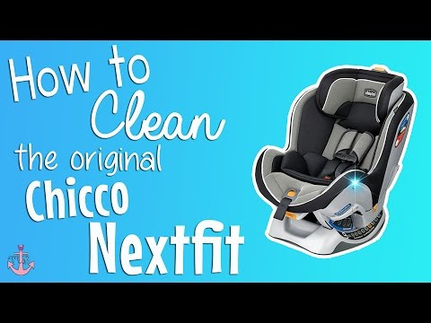 HOW TO CLEAN AN ORIGINAL CHICCO NEXTFIT | YTMM Collab - YouTube