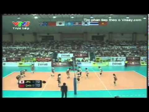 Giải bóng chuyền nữ quốc tế VTV Sun Group Cup 2011[Final Championship]:Japan Vs Beijing(China)